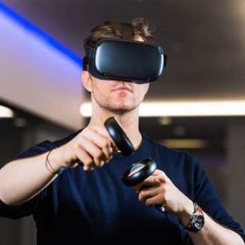 Hire a virtual reality game