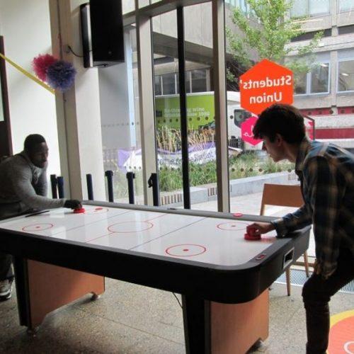Hire air hockey table