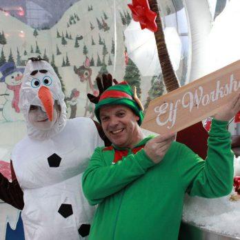 Hire-inflatable-snow-globe-kent