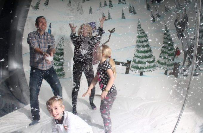 Hire-inflatable-snow-globe-london