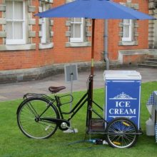 Vintage ice cream cart hire
