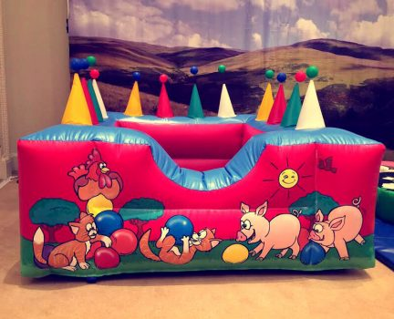 Inflatable ball pool hire