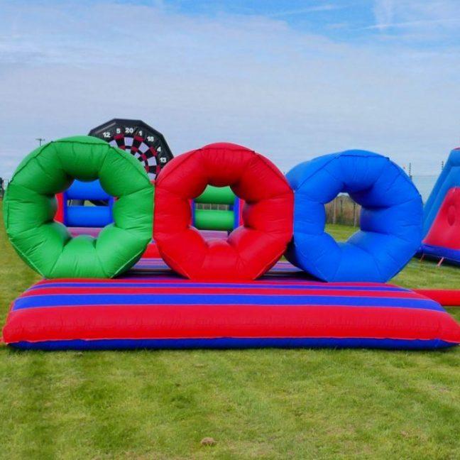 Inflatable barrel crawl hire london