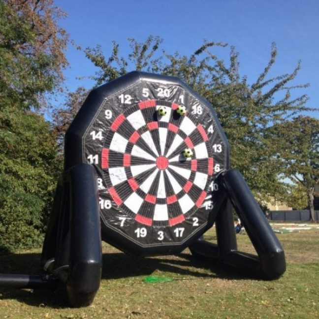 Inflatable dart board Football game