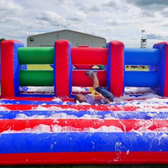 Inflatable hurdle hire