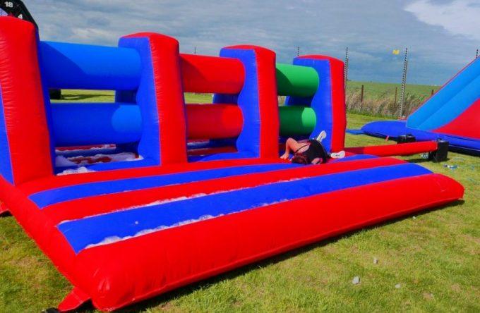 Inflatable-hurdles-hire-london