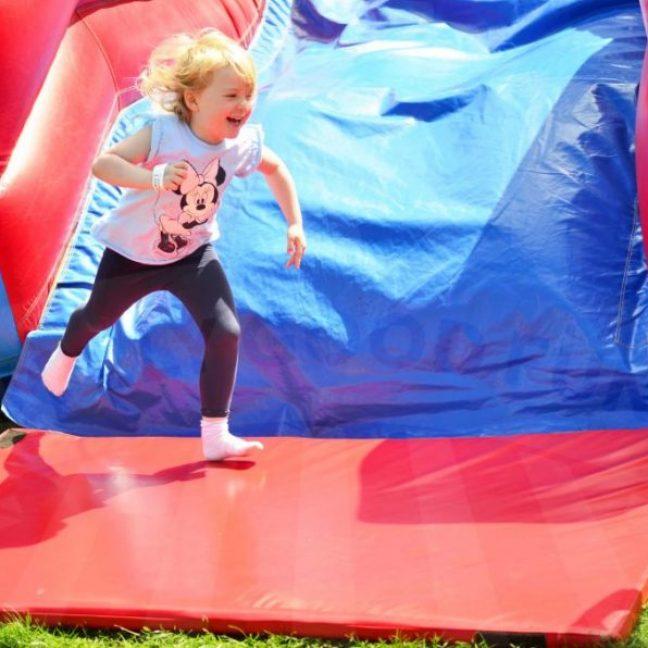 Inflatable-mega-slide-hire-essex