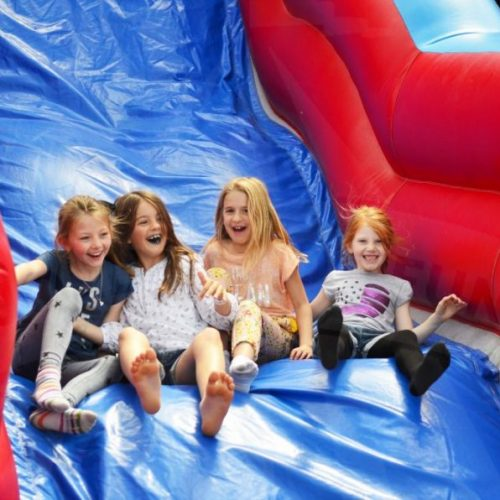 Inflatable-mega-slide-hire-london