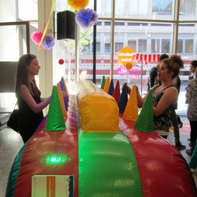 Inflatable-under-pressure-game-for-hire-kent