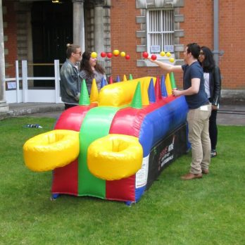Inflatable-under-pressure-game-for-hire-london