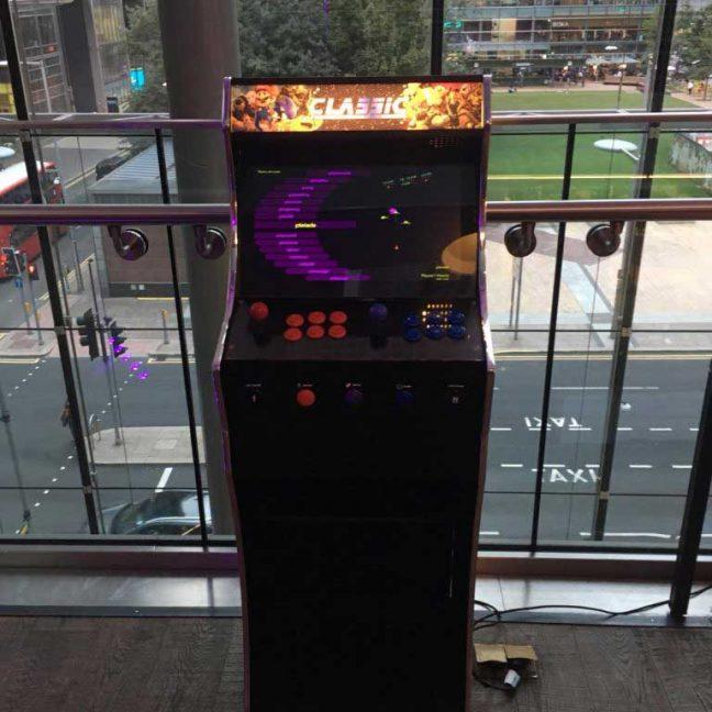 LeisureKing retro arcade game for hire