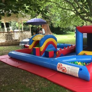 Lockdown party bouncy castle hire
