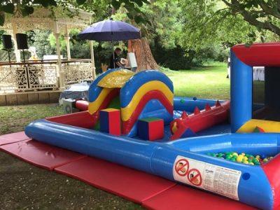 Lockdown party bouncy castle hire
