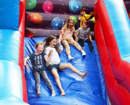 Mega slide inflatable hire