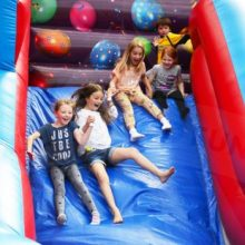 Mega slide inflatable hire