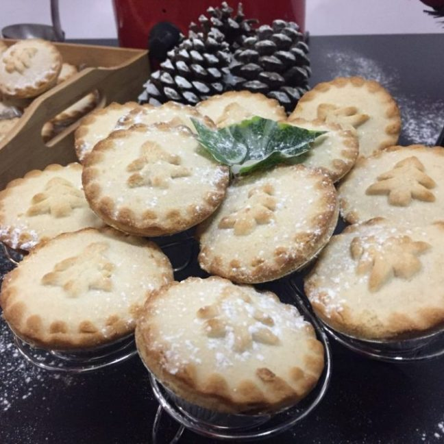 Mince pie and mulled wine stall hire