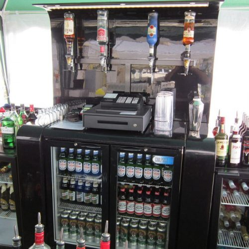 Mobile bar hire corporate event