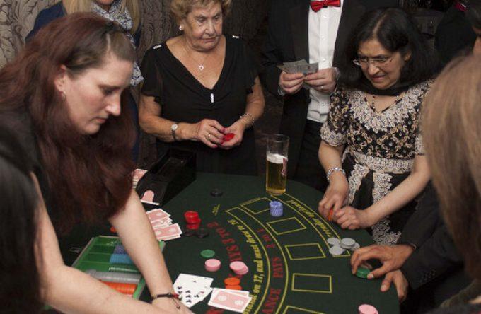 Mobile casino game corporate event