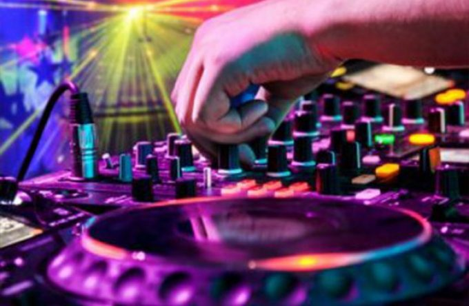 Mobile disco hire Christmas party