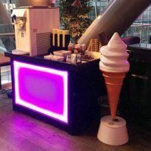 Mr whippy ice cream stand exhibition