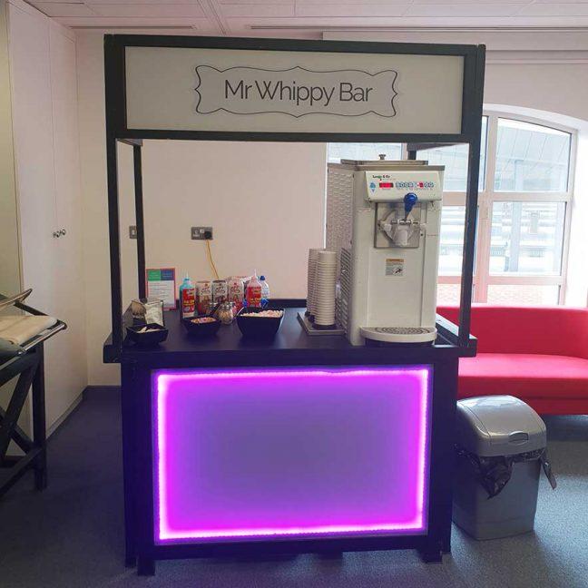 Mr whippy Ice cream bar hire; Ice cream Machine Hire