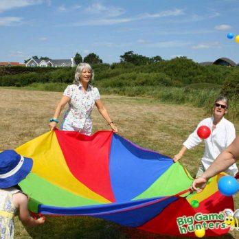 Parachute Game childrens party entertainment