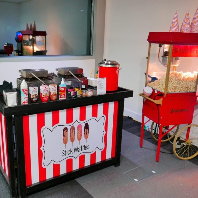 Popcorn machine hire in London