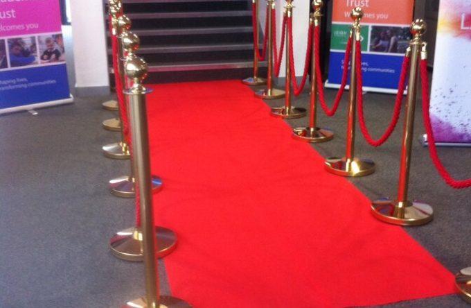 Red carpet hire london