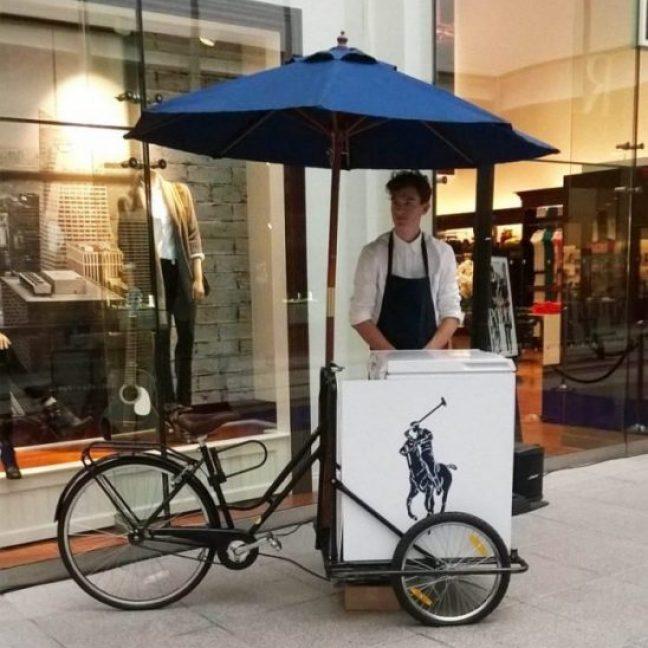 Rent ice cream trike Essex