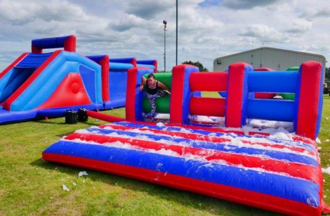 Rent-inflatable-hurdle-essex