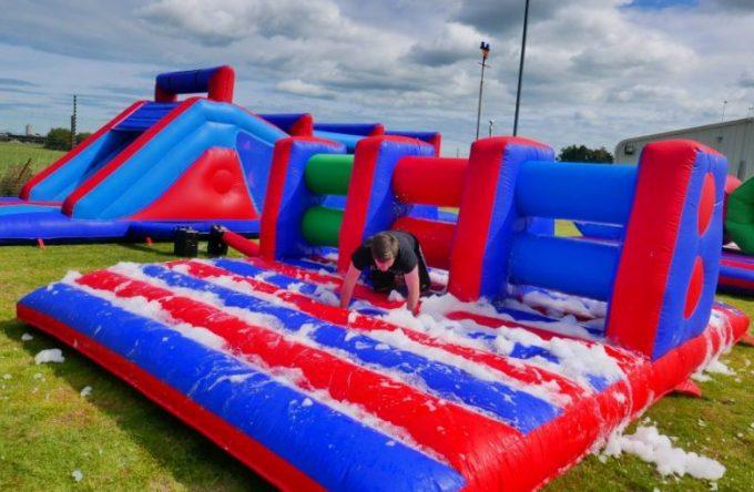 Rent-inflatable-hurdle-kent