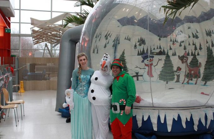 Rent-inflatable-snow-globe-essex