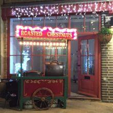 Roast chestnut cart hire Essex
