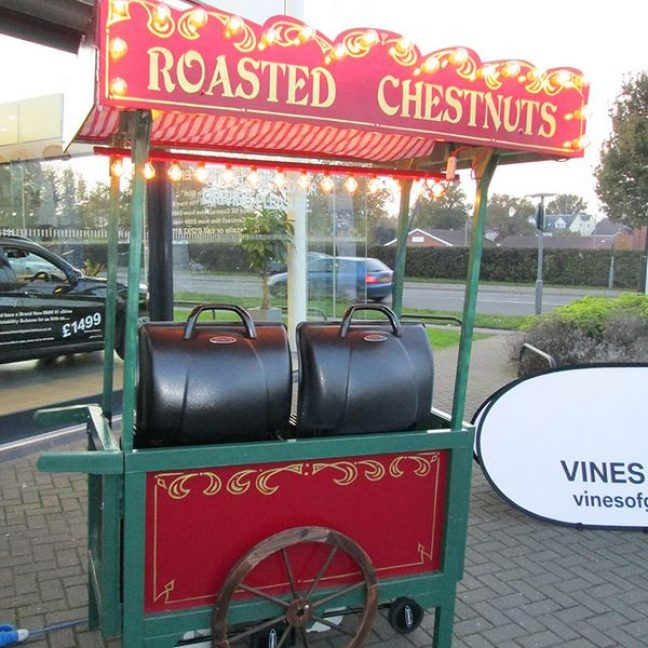 Roasted chestnut stall hire kent