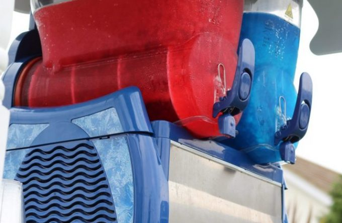 Hire a slush machine in Kent