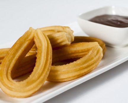 Spanish loop churros