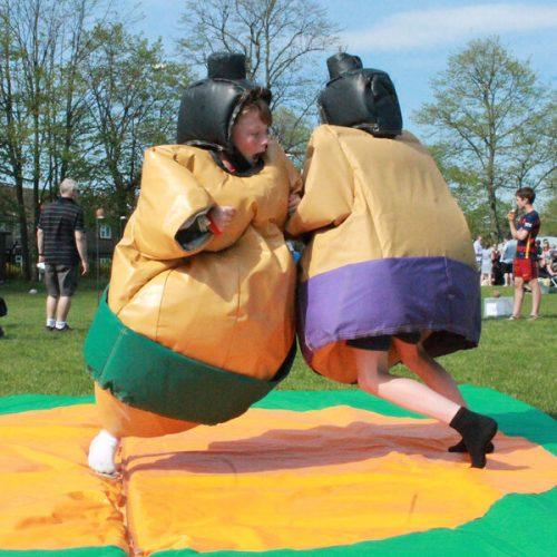 Sumo suits hire party entertainment