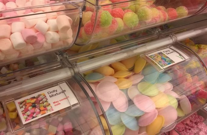 Traditional sweets pick and mix hire essex