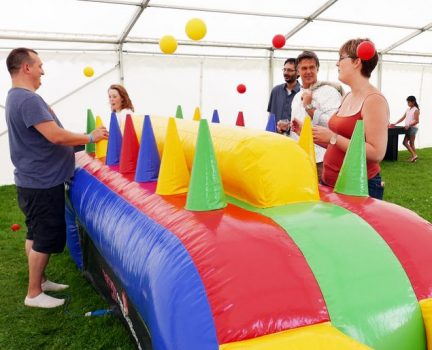 Under pressure inflatable hire kent