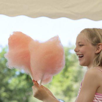 Wedding Candy floss machine hire
