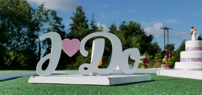 Wedding-mini-golf-hire-