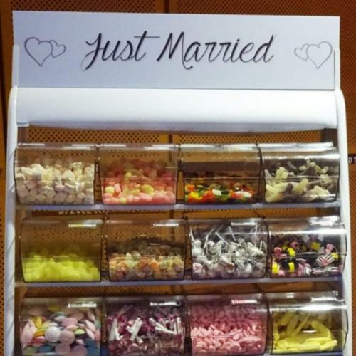 Wedding pick and mix stand hire