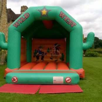 Wild West bouncy castle hire gravesend