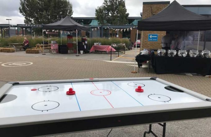 air hockey hire Kent