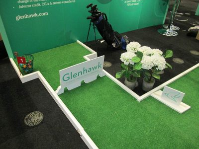 branded-exhibition-stand-crazy-golf-hire
