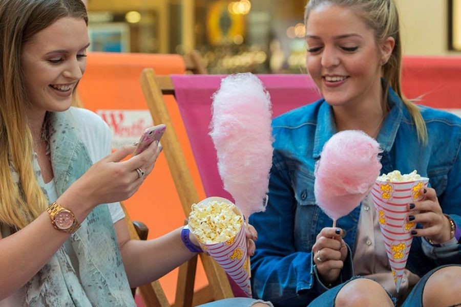 candyfloss popcorn event package