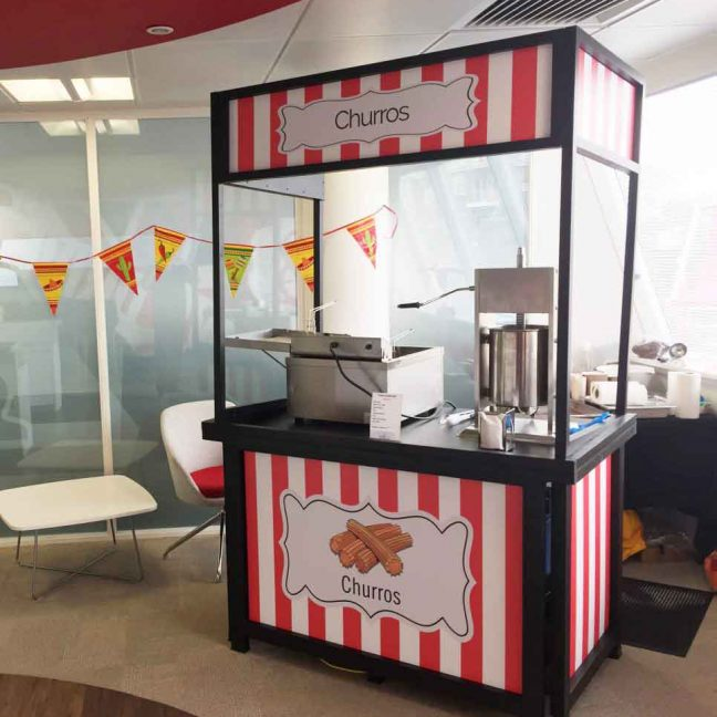 churros stall mobile catering