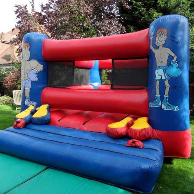 inflatable bouncy boxing ring hire