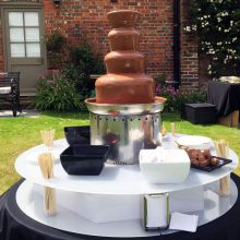 leisureking-chocolatefountain-outdoor