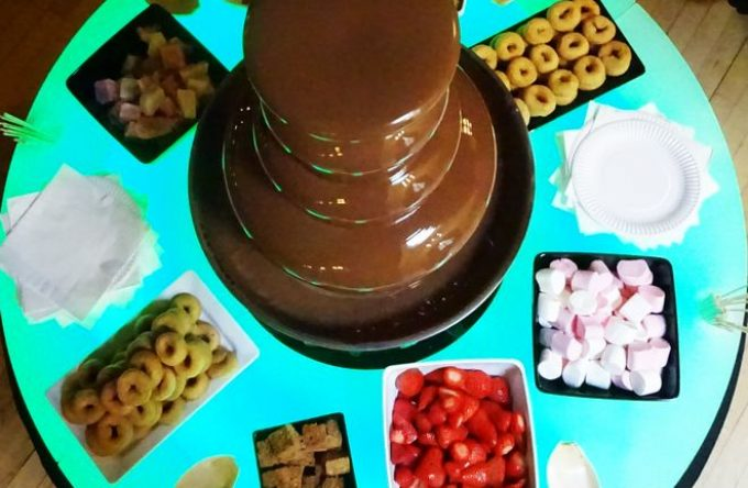 leisureking-chocolatefountain-top-view